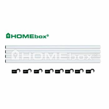 Homebox Stangen Set 100 Fixture Poles 22mm